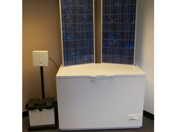 Solar Powered Freezer